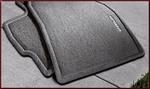 Carpeted Floor Mats - 4-Piece (Black)