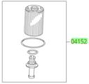 Genuine Toyota Oil Filter Element & O-ring