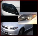 Left Black Rimmed Spec tC Head Light