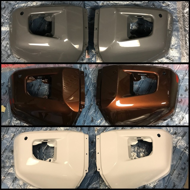 3rd Gen Tundra Front Paintable Bumper End Caps