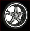 """TRD 19"""" x 8"""" 5-Spoke Alloy Wheels"""
