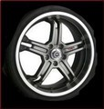 "TRD 19"" x 8"" 5-Spoke Alloy Wheels"