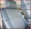 Clazzio Perforated Leather Seat Covers DOUBLE CAB W/ FRONT CAPTAIN SEAT