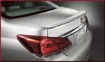 Rear Lip Spoiler - Classic Silver Metallic 1F7