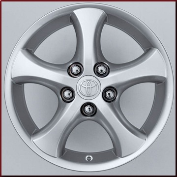 "16"" 5-Spoke Factory Alloy Wheel"
