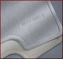 Carpeted Mats - Ivory; W/Out 3rd Row Seat (Hybrid)