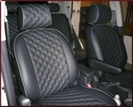 Clazzio Quilted Type Seat Cover