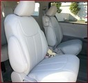 Clazzio Perforated Leather Seat Covers, LE Plus Model