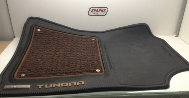 All-Weather Floor Liner - 3-Piece 1974 Ed Black