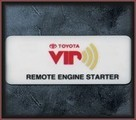 Remote Engine Starter - Vehicles Without Smart Key
