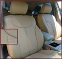 Clazzio Perforated Leather Seat Covers WITH HEIGHT ADJUSTER