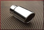 Exhaust Tip - Dual Wall, Polished