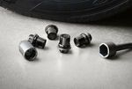 Alloy Wheel Locks - Black Chrome