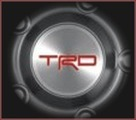 """TRD Center Cap for 17"""" Forged Aluminum Off-Road Wheel"""