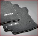 Carpeted Floor Mats, Black