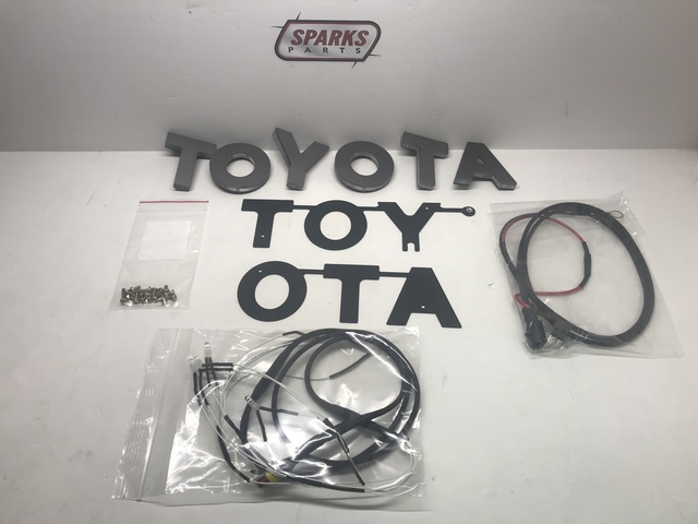 TRD Pro Lit Tundra Letter Replacements