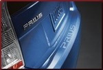 Rear Bumper Applique - Clear