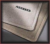 Carpeted Floor Mats - Stone