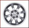 "18"" BBS Silver Wheel"