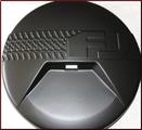 Spare Tire Cover W/Backup Camera Cutout