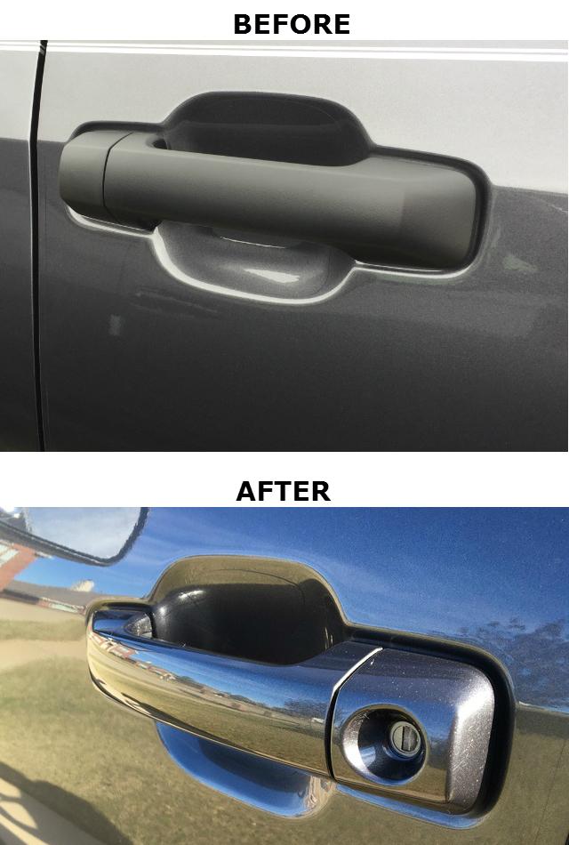 Color Matched Exterior Door Handles (Reg & Dbl Cab)