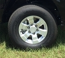 """16"""" 6 Spoke Silver Alloy Wheel"""
