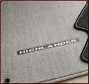 Carpeted Floor Mats - 3-Piece (Gray Hybrid Only)