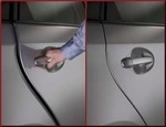Door Edge Guards - Blue Ribbon Metallic 8T5