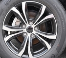 "17"" Alloy Split Spoke Wheels in Gloss Black with Machined Face"