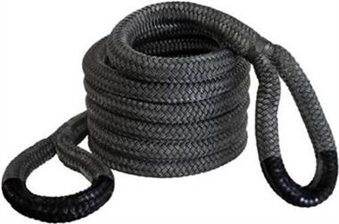 """Bubba Recovery Rope 7/8"""" x 30' In Black"""