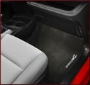 Carpet Floor Mats - Dark Gray