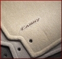 50th Anniversary Carpeted Floor Mats-Bisque