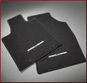 Carpeted Floor Mats - 4-Piece; Black (For Gas Engine)