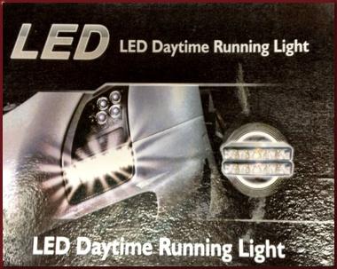 UNIVERSAL LED Daytime Running Light (DRL) Kit