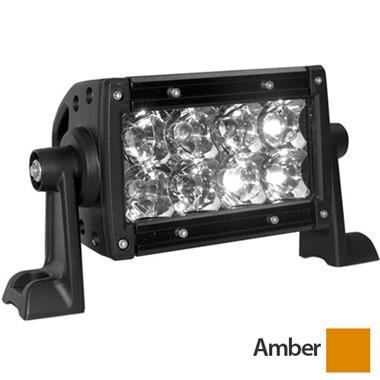 """E-Series 4"""" Amber Flood LED Light Bar"""