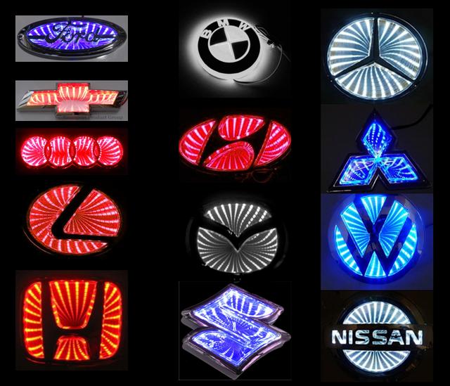 Universal LED Lighted Emblem