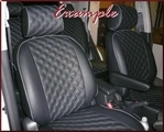 Clazzio Quilted Type Seat Covers SHIPPING INCLUDED
