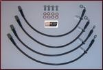 Stainless Steel Braided Brake Line Kit