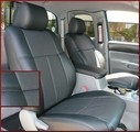 Clazzio Perforated Leather Seat Covers WITH FRONT SPORTS SEAT