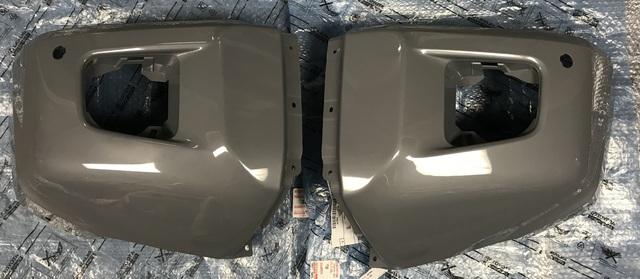 3rd Gen Tundra Front Paintable Bumper End Caps