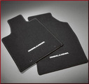 Carpeted Floor Mats - 4-Piece; Black (Hybrid)