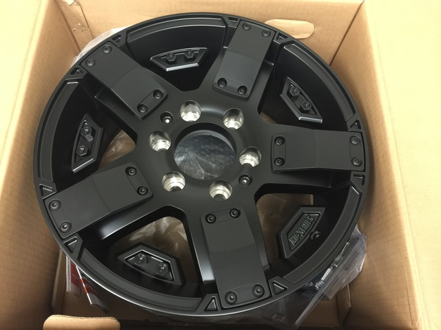 "17"" Rockstar Wheel"