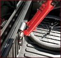 Locking Fork Bike Rack