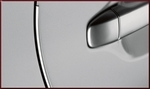 Door Edge Guards - Attitude Black Metallic 218