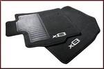 Carpeted Floor Mats, 4-pc, Black Auto Transmission