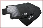 Carpeted Floor Mats, 4-pc, Black Auto Transmission