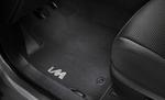 Carpet Floor Mats, 4-pc set, black with iM logo