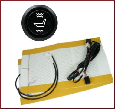 Comfort Heat: Carbon Fiber Seat Heater