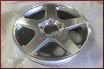 """5-Spoke Alloy Wheel 20"""" x 8"""""""