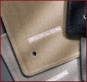 Carpeted Floor Mats - Ivory